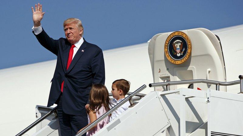 La tribu Trump a déjà épuisé les fonds alloués pour l'année au Secret Service chargé de leur protection