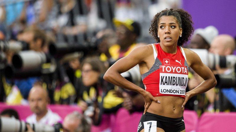 Mujinga Kambundji s'est fait éliminer en demi-finales du 100 m des Mondiaux à Londres.