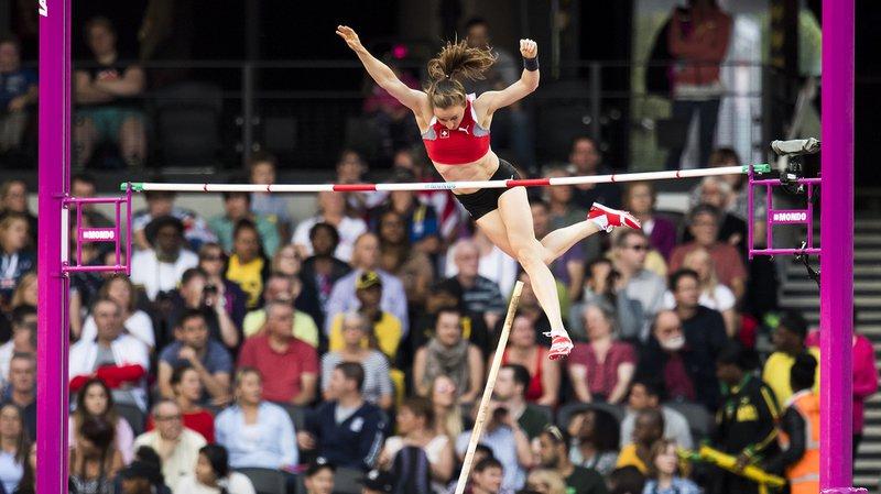 Nicole Büchler est passée à côté de sa finale du saut à la perche des Mondiaux à Londres.