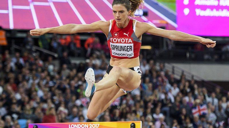 Lea Sprunger peut envisager une qualification pour la finale, son but déclaré.