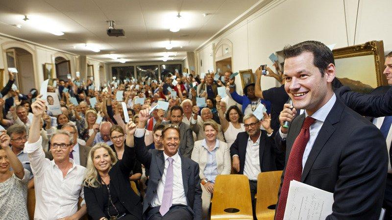 Succession de Burkhalter: la candidature de Pierre Maudet confirmée par le PLR genevois