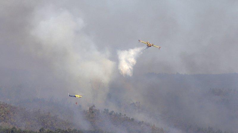 Les incendies ont été maitrisés par les pompiers en Corse et au Portugal