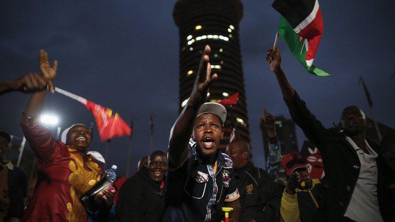 Kenya: le président Uhuru Kenyatta réélu pour un second mandat