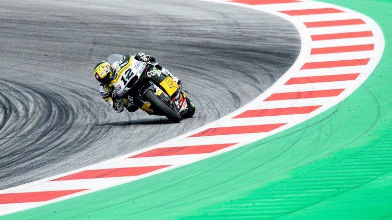 Grand Prix d'Autriche: Thomas Lüthi 3e, victoire de Morbidelli