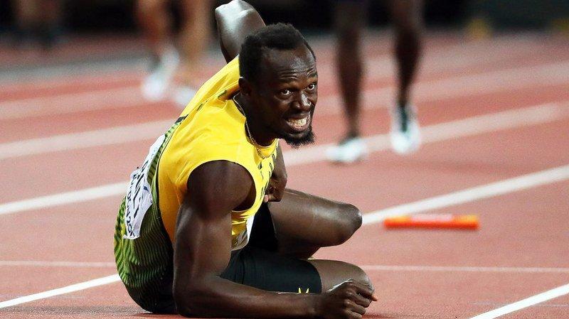 Mondiaux d'athlétisme de Londres : Bolt, blessé le matin, ne devait pas courir la finale du relais