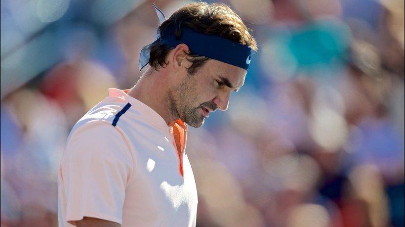 Roger Federer a senti une douleur dans le dos lors de la finale du tournoi de Montréal.