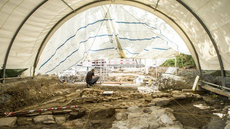 Lucerne: un cimetière et une église de plus de 300 ans découverts sous la ville