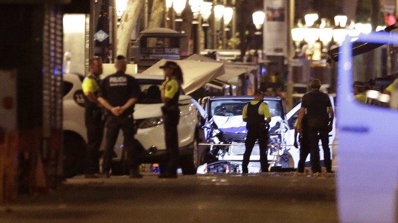 Attentat de Barcelone: 13 morts et plus de 100 blessés, des Suisses témoignent