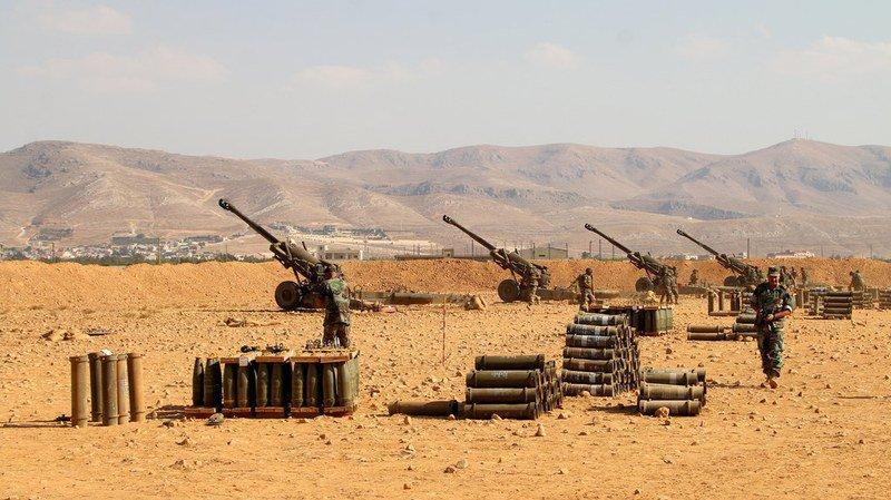 Offensive contre l'Etat Islamique à la frontière entre la Syrie et le Liban