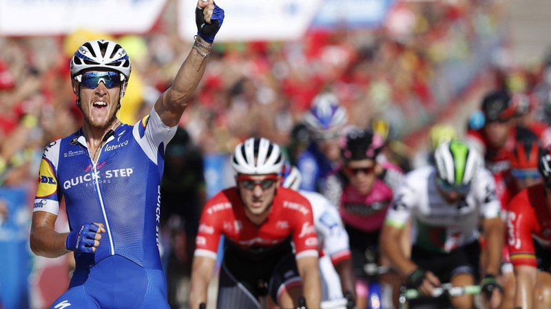 L'Italien Matteo Trentin (Quick Step) a remporté la 10e étape de la Vuelta.