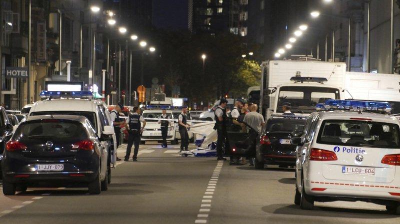 Des militaires visés par une attaque au couteau — Bruxelles