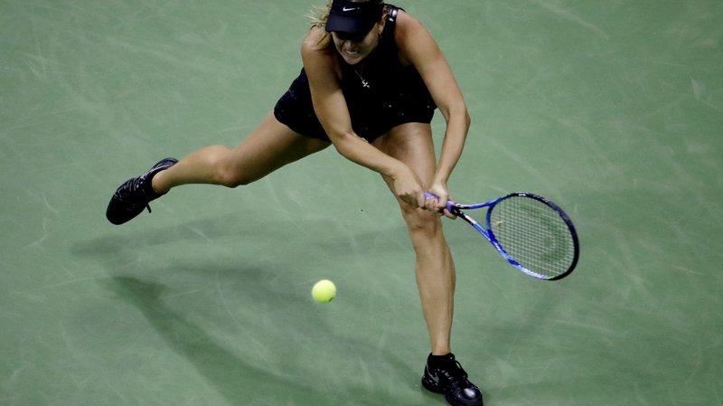 Maria Sharapova (30 ans) n'avait joué qu'un seul match depuis son abandon au 2e tour à Rome en mai.
