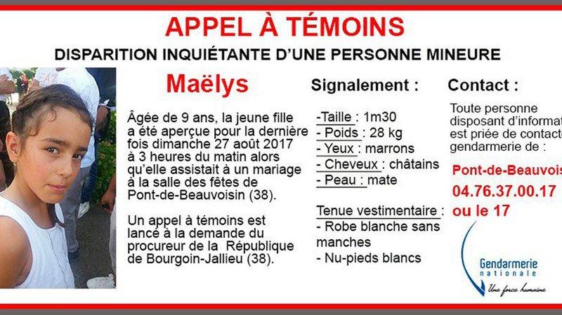 Disparition de Maëlys en France: suspect mis en examen et incarcéré