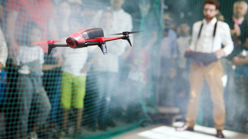 Plus de 5000 curieux se sont rendus aux Drone Days de l'EPFL