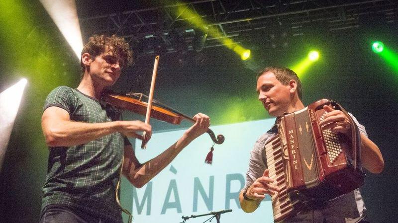 Le groupe écossais de Mànran a beaucoup plû au public de l'Irish Festival, samedi soir à Sion.