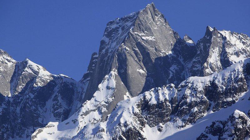 L'accident s'est produit sur la face nord du Piz Badile (3305 m).