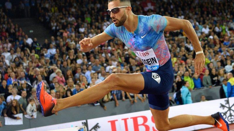 Kariem Hussein a égalé son record personnel du 400 m haies.