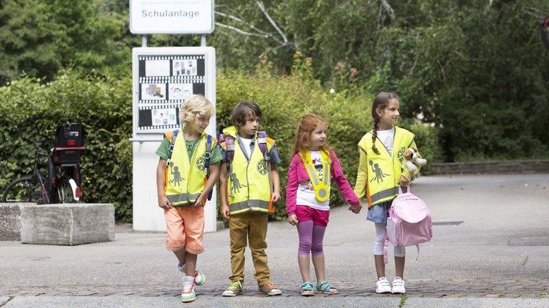 Le bpa, le TCS et les polices cantonales rappellent les automobilistes à la prudence en cette période de rentrée scolaire.