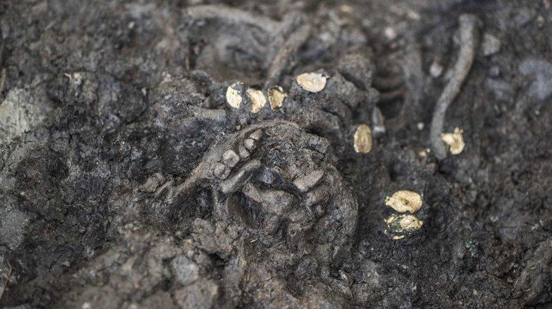 Archéologie: une jeune fille enterrée 600 ans avant J.-C. découverte sur le site de Don Bosco à Sion