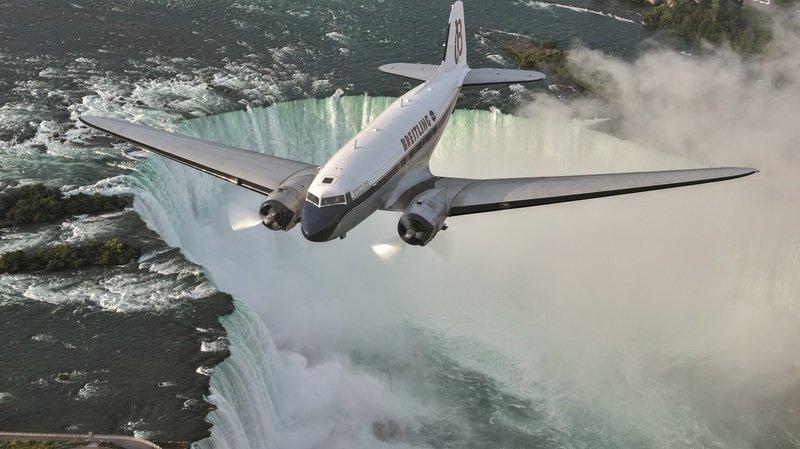 Sion Airshow: le Valais, point final d'un tour du monde légendaire pour le DC-3 et son équipe