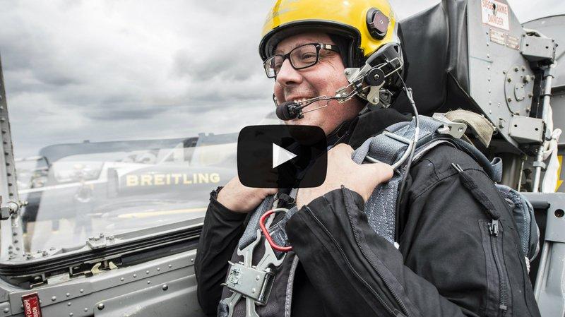Sion Airshow: on a volé en Bücker et avec le Breitling Jet Team: de la voltige d'autrefois à sa version ultime