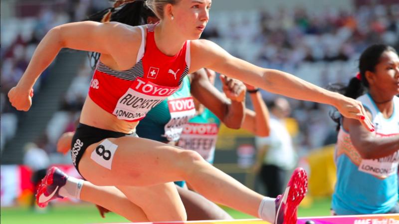 Mondiaux d'athlétisme de Londres: Géraldine Ruckstuhl termine 14e après sa première journée