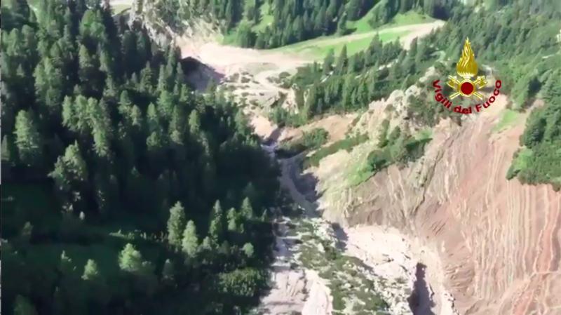 Deux des victimes se trouvaient dans le massif des Dolomites (nord).