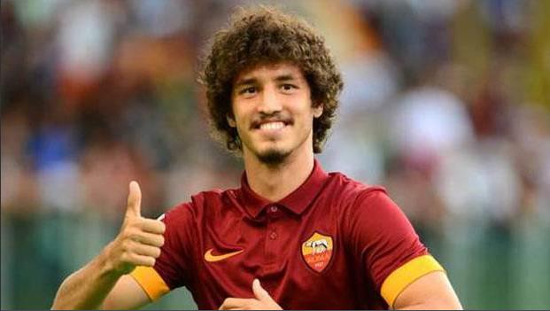 Salih Uçan évoluait en prêt à l'AS Roma de 2014 é 2016.