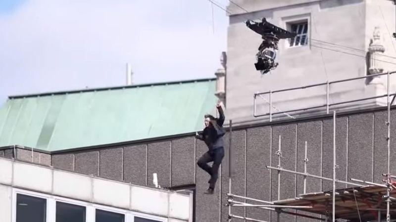 """Londres: Tom Cruise se blesse lors du tournage de """"Mission Impossible 6"""""""