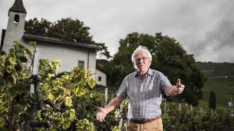 Guy Loye: A 72 ans, le Sierrois garde le même enthousiasme pour sa Marche des Cépages.