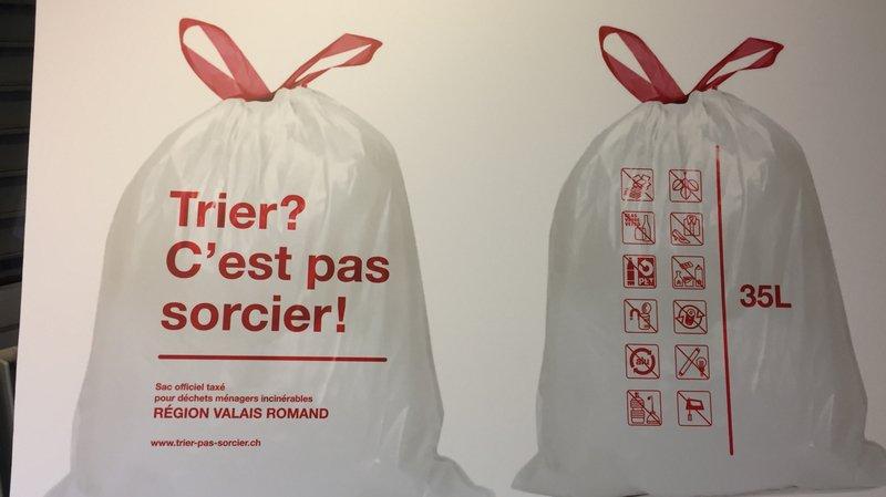 Valais romand: la taxe au sac ne devrait pas faire augmenter la facture