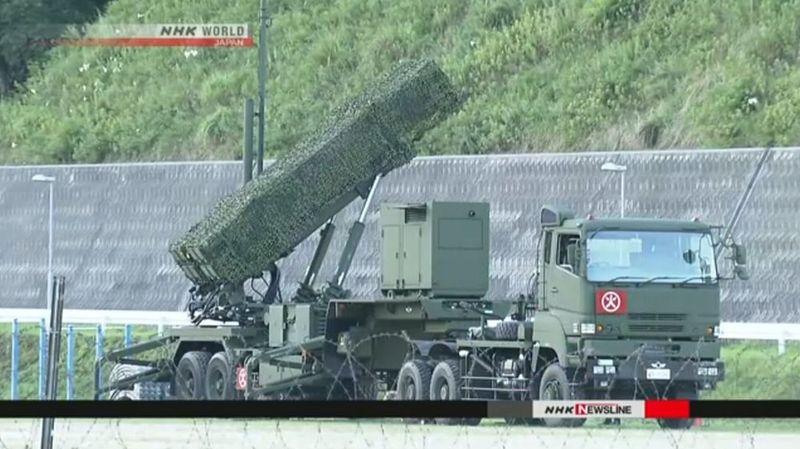 Le gouvernement compte achever dans la matinée de samedi le déploiement du système antimissile dans l'ouest du Japon.