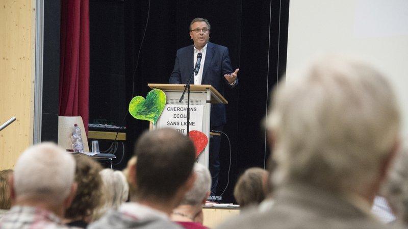 Ligne THT Chamoson-Chippis: le Conseiller d'Etat Roberto Schmidt veut un enfouissement partiel