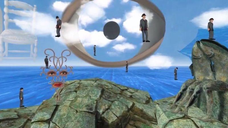 La réalité virtuelle permet de plonger littéralement dans le monde surréaliste de Magritte.