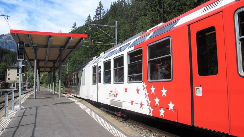 Les rames TMR pourront continuer à aller au-delà de la gare de Châtelard-Frontière grâce à d'importants travaux qui vont être réalisés du côté français.