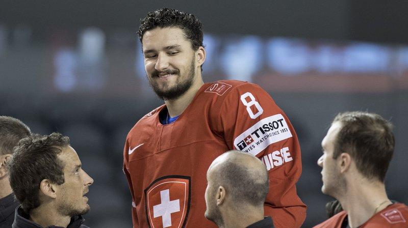 A San Jose, Vincent Praplan jouera peut-être son avenir en NHL