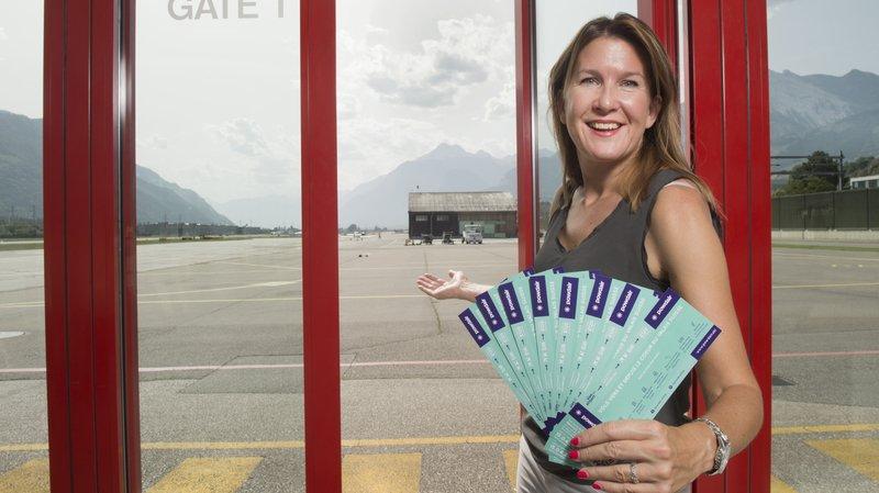 Zoe Ombler, directrice commerciale de Powdair, annonce plusieurs nouveaux vols au départ de la capitale.