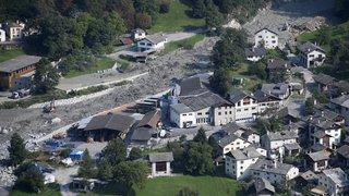 Grisons: un géologue estime que de nouveaux éboulements menacent le village de Bondo