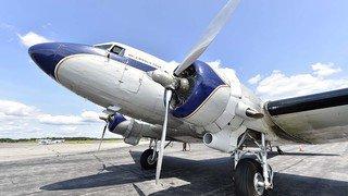 Sion Airshow: le mythique DC-3 de Breitling sous toutes ses coutures