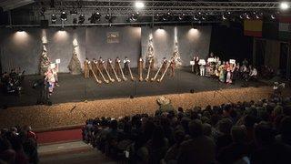 Evolène: soirée d'ouverture des CIME, festival folklorique international