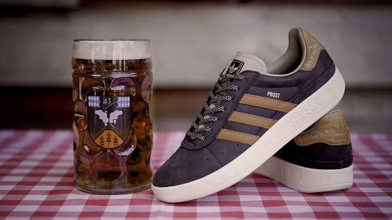 Adidas a décidé de lancer un modèle de chaussures adapté aux soirées arrosées: des baskets résistantes à la bière et au vomi.
