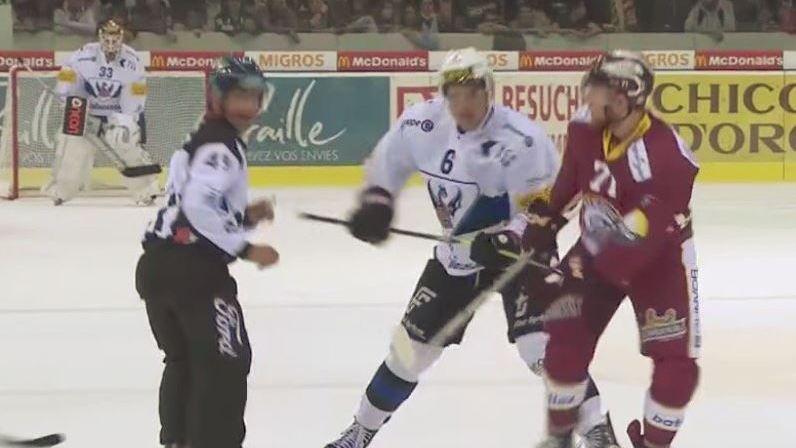 National League: l'attaquant de Fribourg-Gottéron Chris Rivera suspendu un match