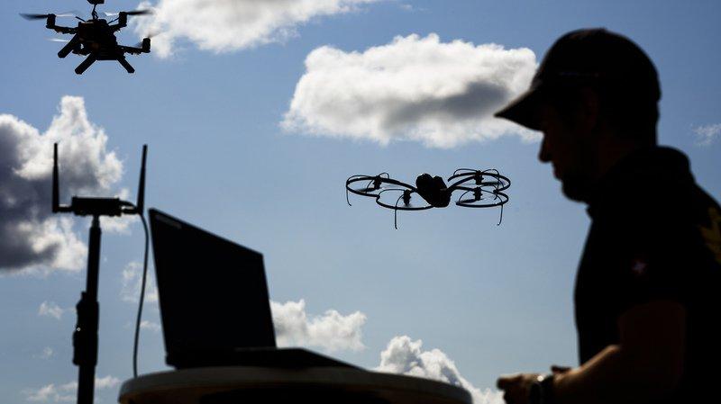 Skyguide présente U-Space, un app qui permet de mettre un peu d'ordre dans les vols de drones en Suisse