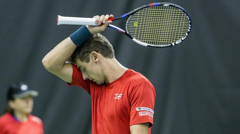Tournoi de tennis ATP à Metz: le Suisse Henri Laaksonen sorti au 2e tour