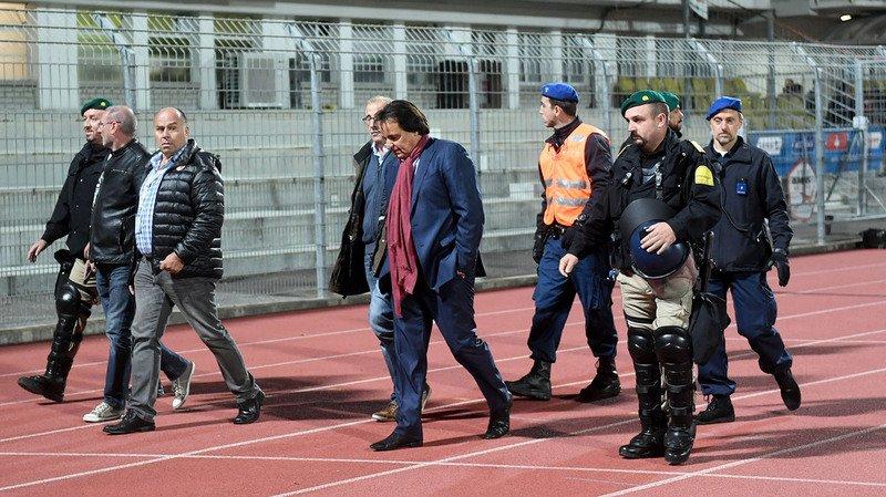 Football: après avoir agressé l'ancien sélectionneur Rolf Fringer, Christian Constantin porte plainte