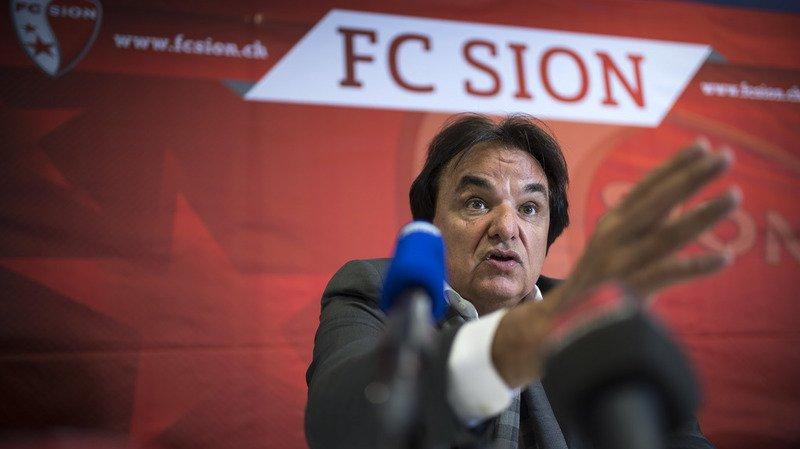 """Affaire Constantin: le président du FC Sion est prêt à """"continuer"""" si Rolf Fringer renouvelle ses critiques"""