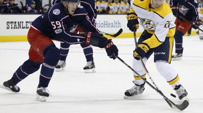 Hockey sur glace: Fiala et Andrighetto se font remarquer dans l'avant-saison de la NHL