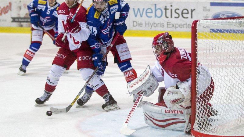 Hockey: en National League, Fribourg Gottéron perd contre Zoug, Lausanne s'incline face à Kloten