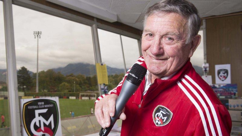 Speaker du FC Monthey, Marius Mignot est un homme d'une générosité rare.