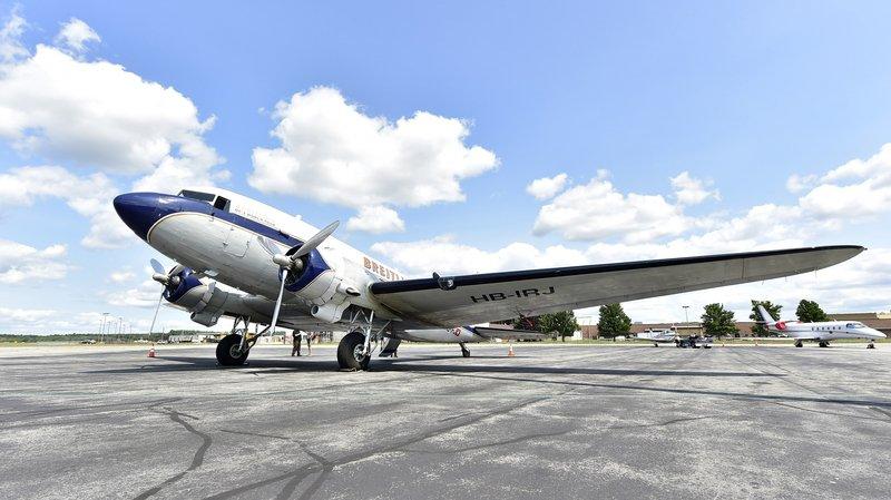 Sion Airshow: le plus vieil avion à boucler un tour du monde en Valais